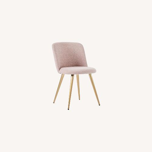 Used West Elm Lila Upholstered Dining Chair for sale on AptDeco