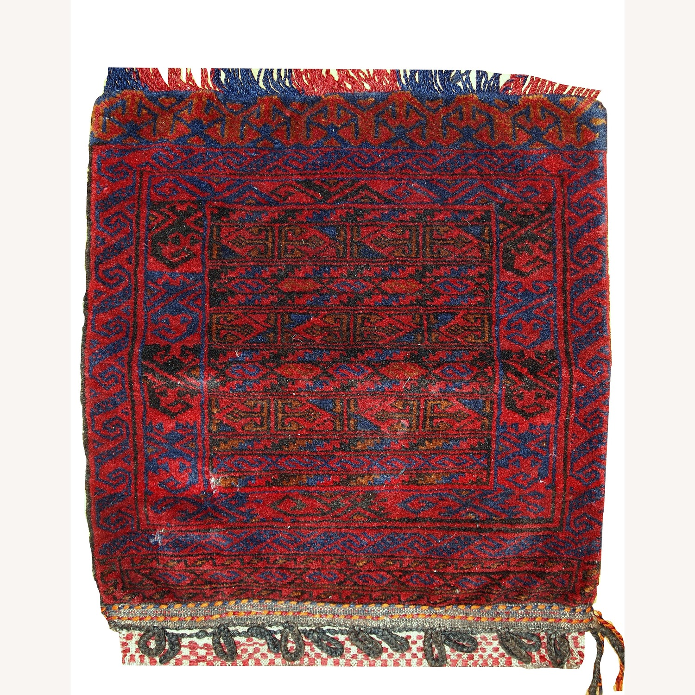 Handmade Antique Collectible Uzbek Salt Bag - image-1