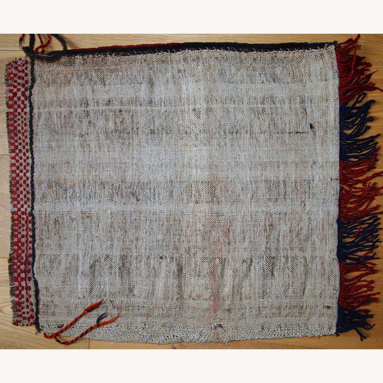 Handmade Antique Collectible Uzbek Salt Bag - image-8