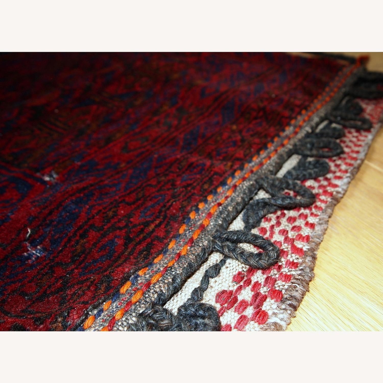 Handmade Antique Collectible Uzbek Salt Bag - image-3