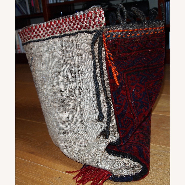 Handmade Antique Collectible Uzbek Salt Bag - image-6
