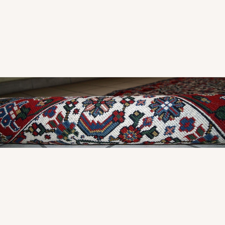 Handmade Vintage Indian Agra Rug - image-2