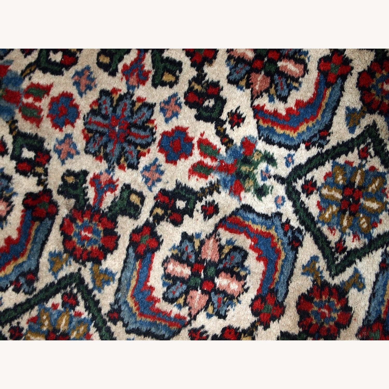 Handmade Vintage Indian Agra Rug - image-10