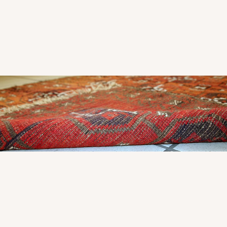 Handmade Antique Afghan Baluch Rug - image-2