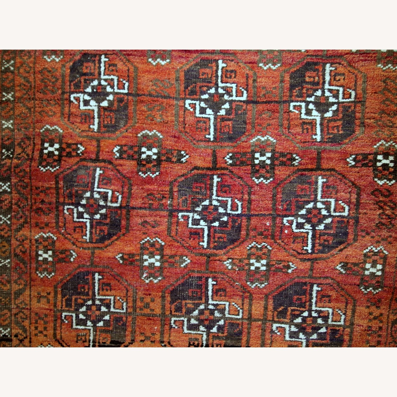 Handmade Antique Afghan Baluch Rug - image-11