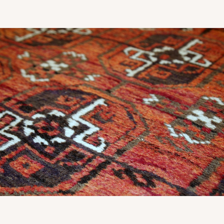 Handmade Antique Afghan Baluch Rug - image-7