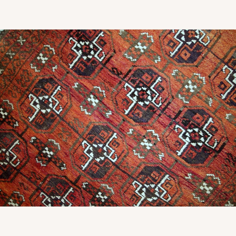 Handmade Antique Afghan Baluch Rug - image-12