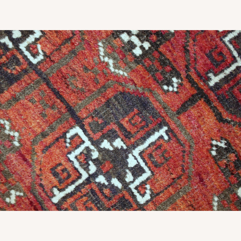 Handmade Antique Afghan Baluch Rug - image-4