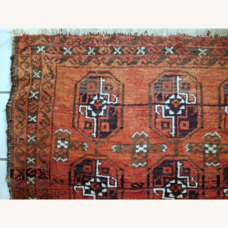 Handmade Antique Afghan Baluch Rug - image-5