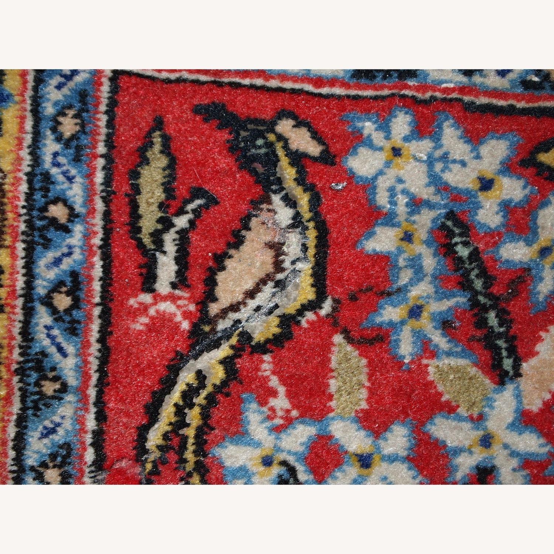 Handmade Vintage Persian Tabriz Mat - image-3