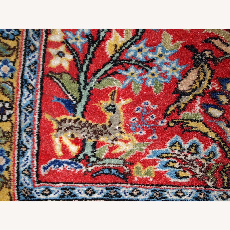 Handmade Vintage Persian Tabriz Mat - image-7