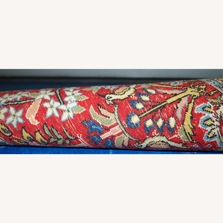 Handmade Vintage Persian Tabriz Mat - image-2