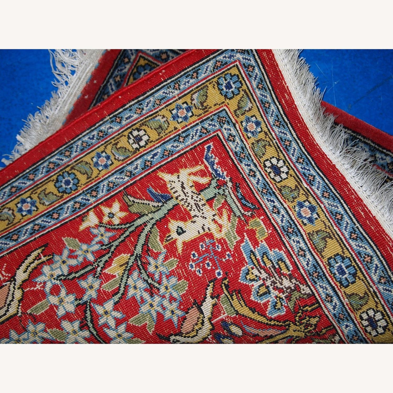 Handmade Vintage Persian Tabriz Mat - image-5