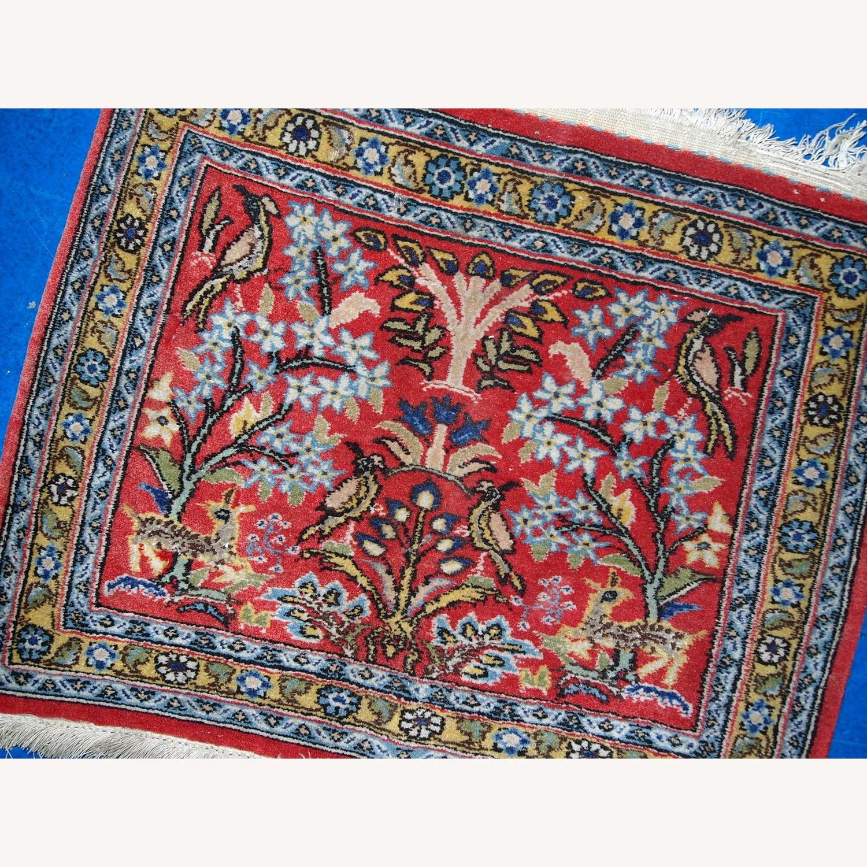 Handmade Vintage Persian Tabriz Mat - image-4