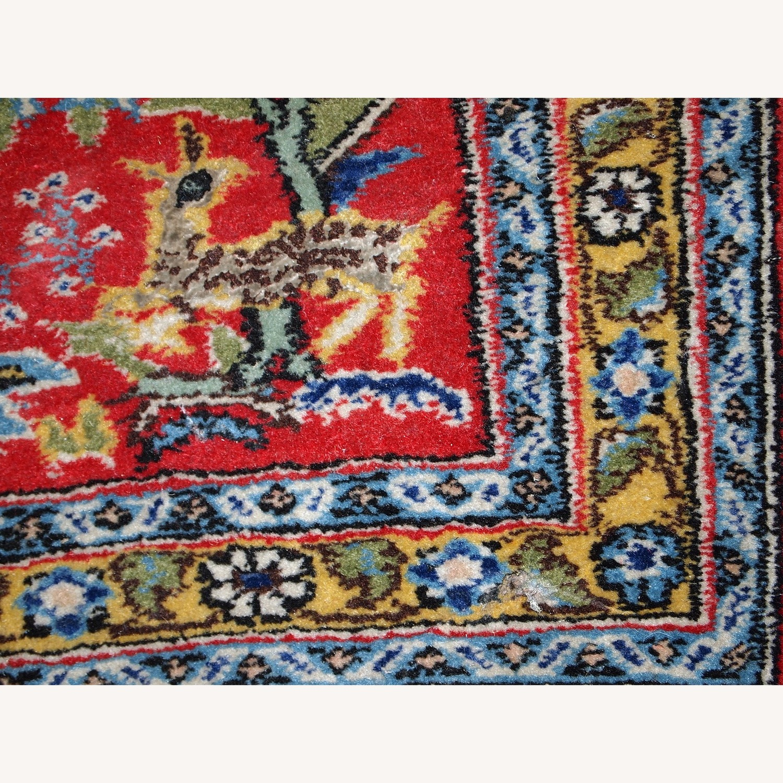 Handmade Vintage Persian Tabriz Mat - image-6