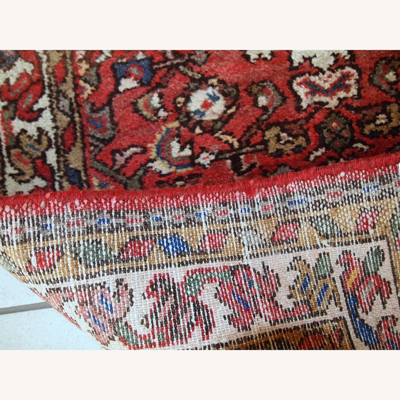 Handmade Vintage Persian Hamadan Rug - image-10