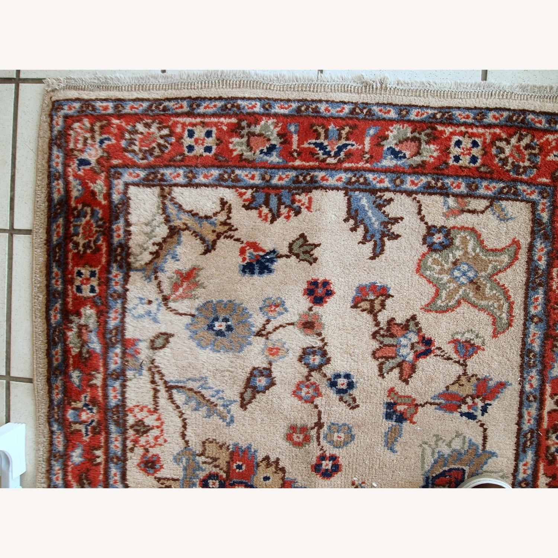 Handmade Vintage Pakistani Lahore Rug - image-10