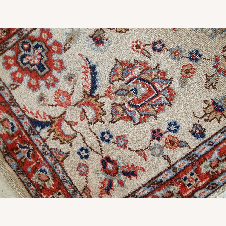 Handmade Vintage Pakistani Lahore Rug - image-8