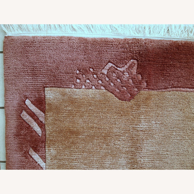 Handmade Vintage Tibetan Khaden Rug - image-12