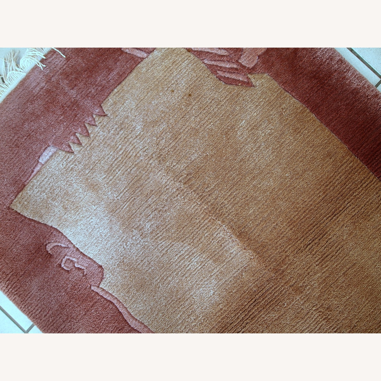 Handmade Vintage Tibetan Khaden Rug - image-10