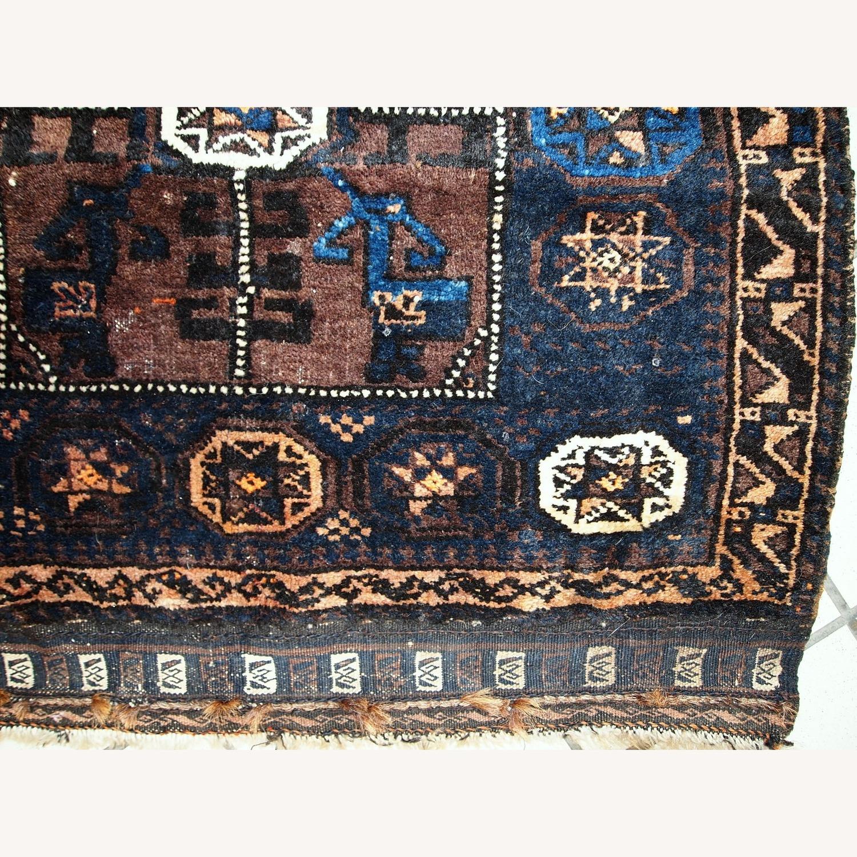 Handmade Antique Afghan Baluch Bagface - image-6