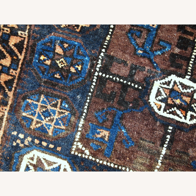 Handmade Antique Afghan Baluch Bagface - image-3