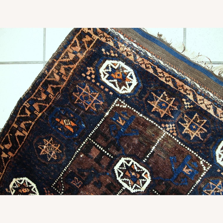 Handmade Antique Afghan Baluch Bagface - image-5