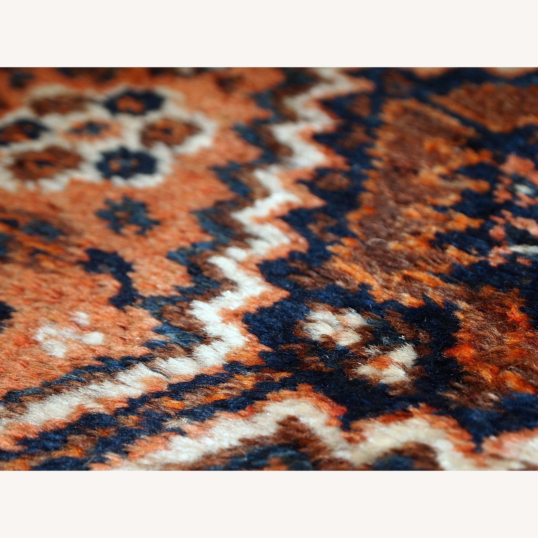 Handmade Antique Persian Shiraz Bagface - image-6