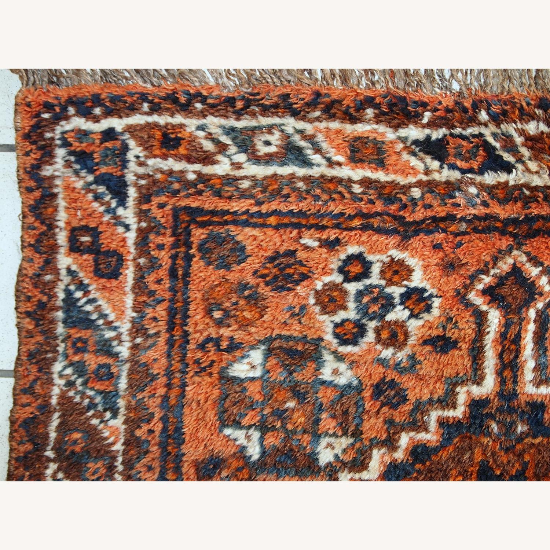 Handmade Antique Persian Shiraz Bagface - image-7