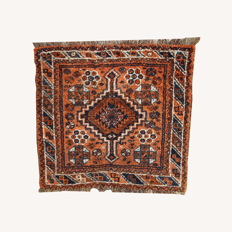 Handmade Antique Persian Shiraz Bagface - image-0