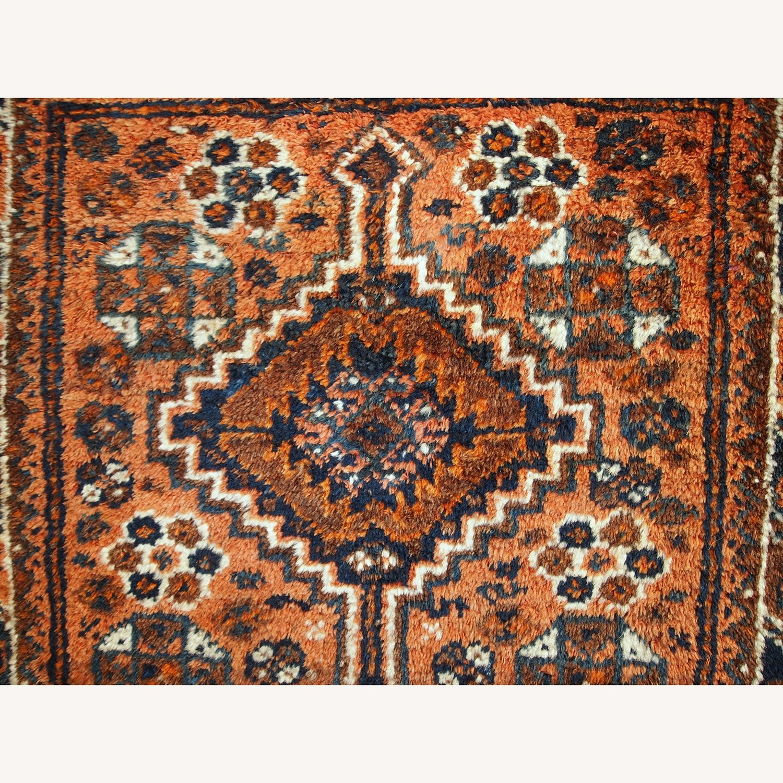Handmade Antique Persian Shiraz Bagface - image-5
