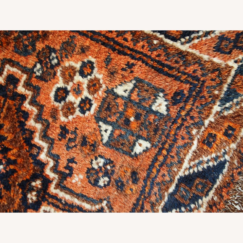 Handmade Antique Persian Shiraz Bagface - image-13