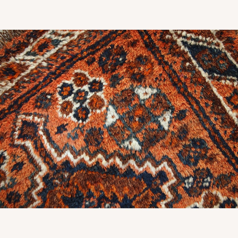 Handmade Antique Persian Shiraz Bagface - image-12