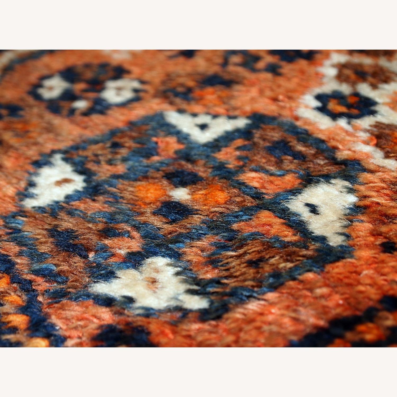 Handmade Antique Persian Shiraz Bagface - image-10