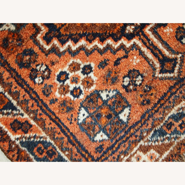 Handmade Antique Persian Shiraz Bagface - image-8