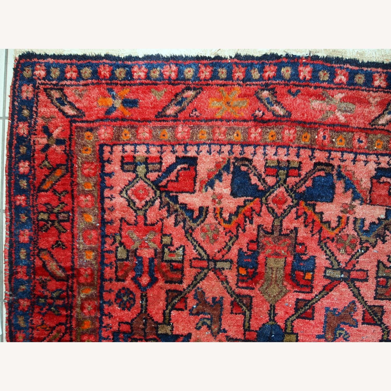 Handmade Antique Persian Malayer Rug - image-6