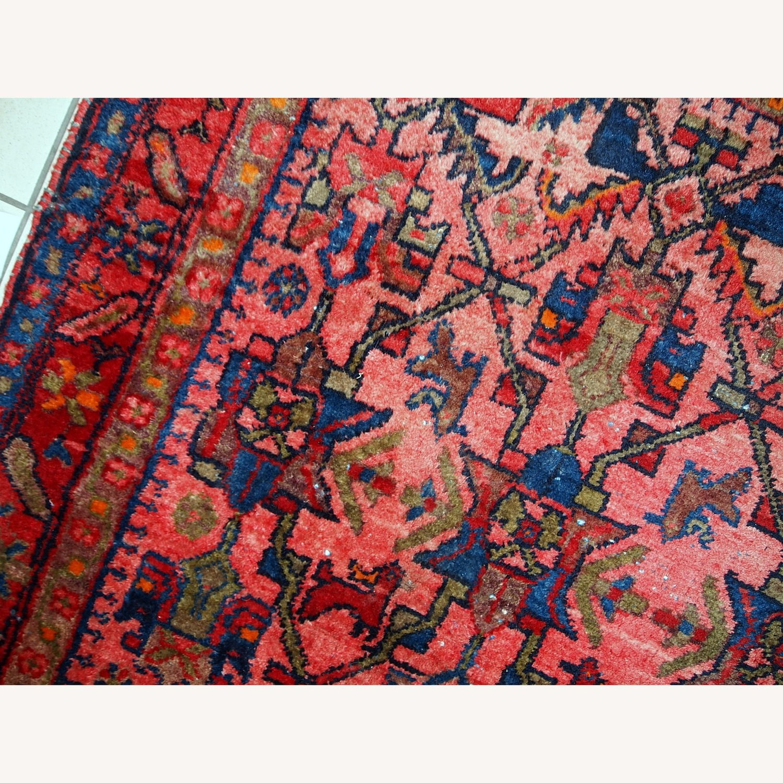 Handmade Antique Persian Malayer Rug - image-10