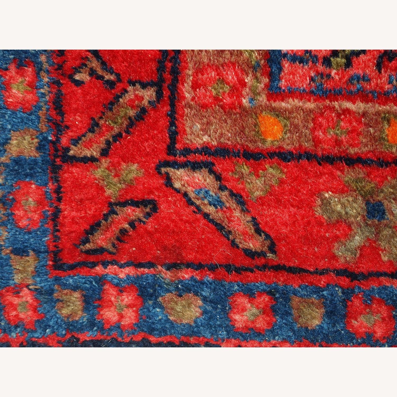 Handmade Antique Persian Malayer Rug - image-5