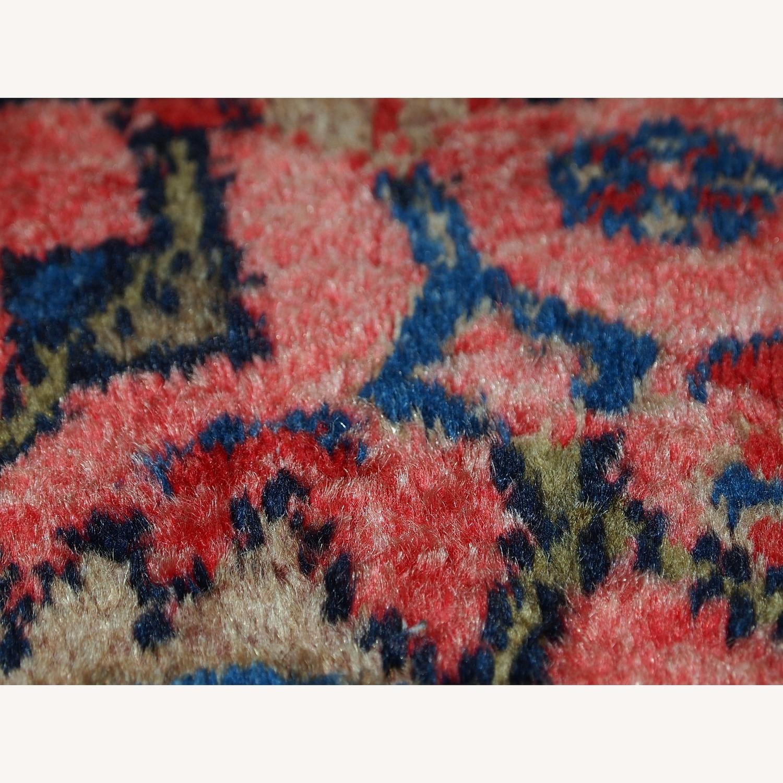 Handmade Antique Persian Malayer Rug - image-12