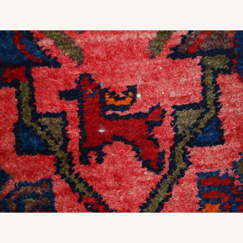 Handmade Antique Persian Malayer Rug - image-11
