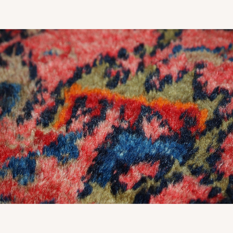 Handmade Antique Persian Malayer Rug - image-13