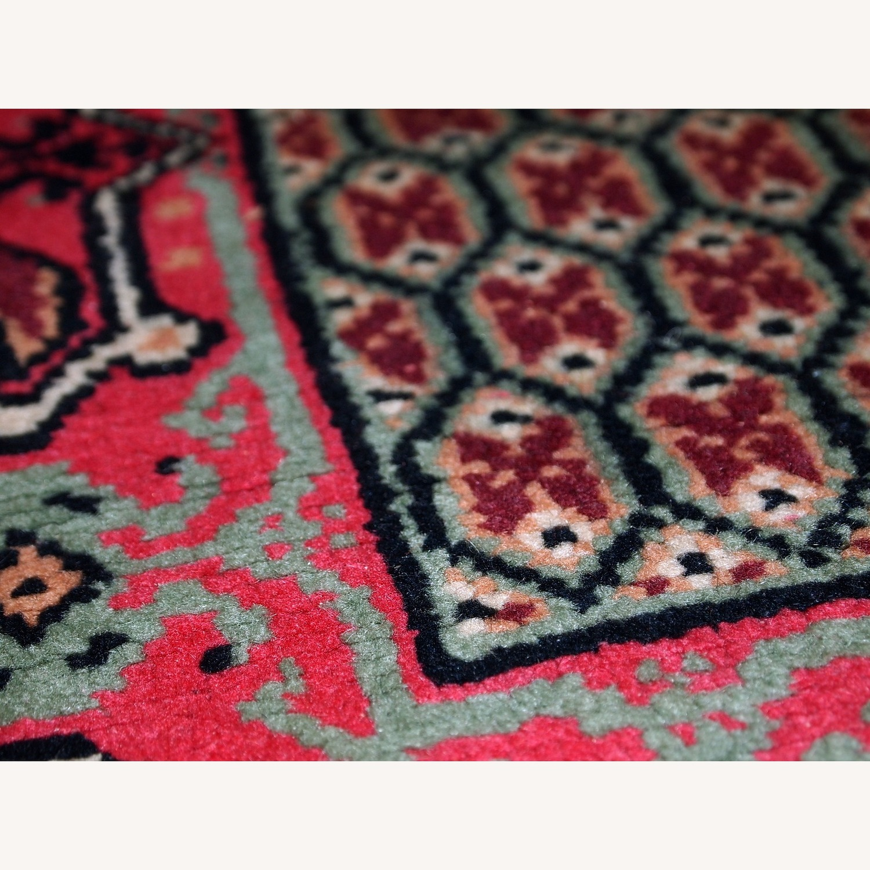 Handmade Vintage Algerian Berber Rug - image-10