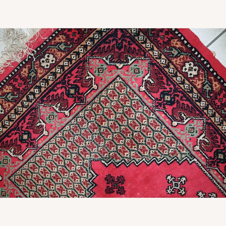 Handmade Vintage Algerian Berber Rug - image-4