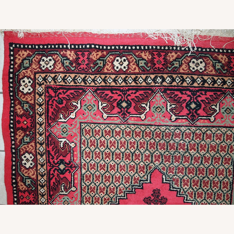 Handmade Vintage Algerian Berber Rug - image-6