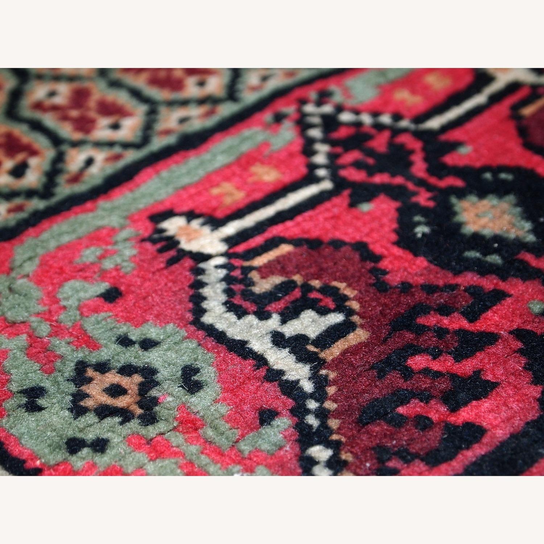 Handmade Vintage Algerian Berber Rug - image-11