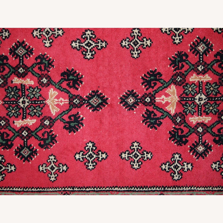 Handmade Vintage Algerian Berber Rug - image-8