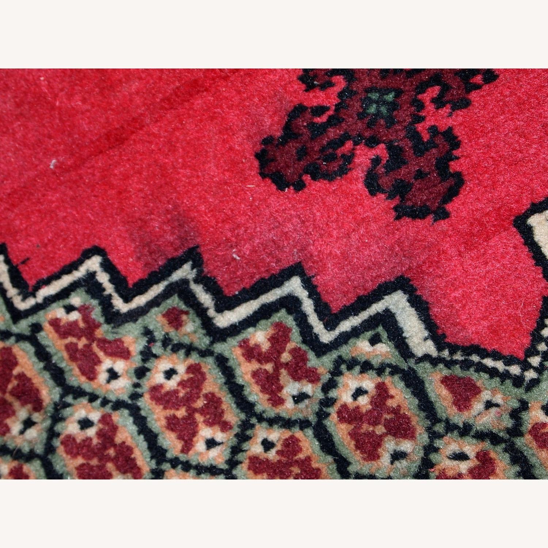 Handmade Vintage Algerian Berber Rug - image-13