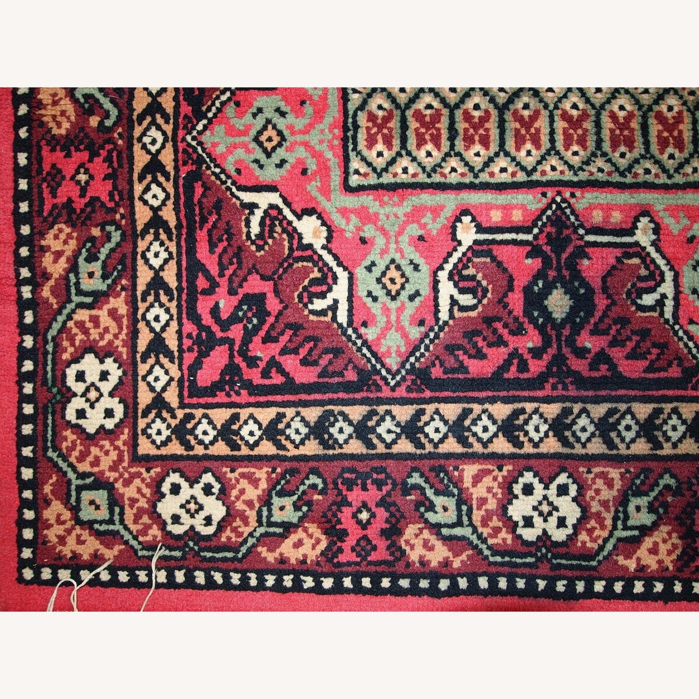 Handmade Vintage Algerian Berber Rug - image-5
