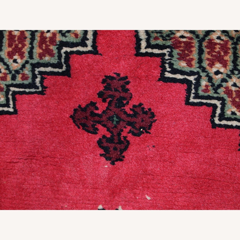 Handmade Vintage Algerian Berber Rug - image-3