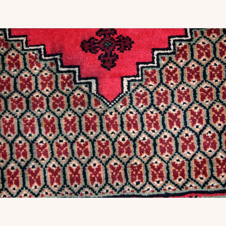 Handmade Vintage Algerian Berber Rug - image-12
